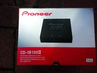PIONEER ipod CD-IB100 MRK 2 INTERFACE ADAPTOR FOR IPOD brand new