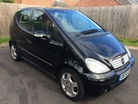 Mercedes A160 CDI Avantgarde – Black