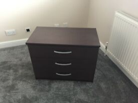 Used Brown Chest of Drawers x 2 - £20 Each