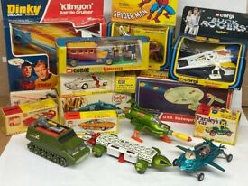 Dinky Toys, Corgi Toys and all old diecast models wanted