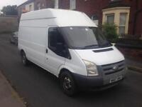 2007 07reg Ford Transit 2.4 Tdci Lwb High Top White MOBILE WORKSHOP Business opportunity