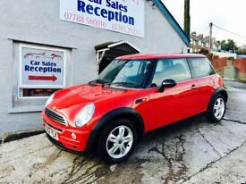 MINI ONE 1.6 PETROL FSH LOW MILES £1895!!