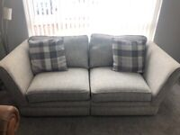 Grey 3/4 seater sofas