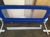 Bed rail (blue) in excellent condition