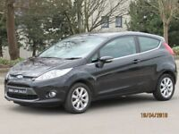 2009 FIESTA 1.4 ZETEC LONG MOT CHROME FINISH FACE LIFT MODEL STUNNING CONDITION