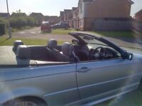 BMW 330ci M SPORT CONVERTIBLE GREAT CONDITION LEATHER INTERIOR SWAP or CHEAP PART EXCHANGE WELCOME