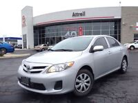2013 Toyota Corolla CE C PKG HEATED SEATS, BLUETOOTH, ABS, PWR G