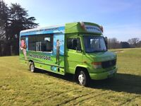 Mercedes Vario Ice cream van / catering vehicle