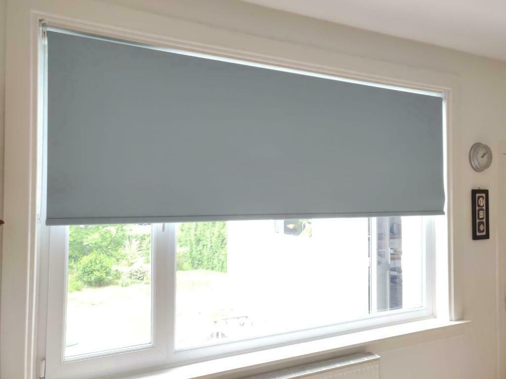 Large Light Blue Blackout Roller Blind In Craiglockhart Edinburgh Gumtree
