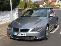 BMW 630i convertible NOT 645 M6 330 325 320