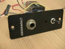 Fernandes SB3000 Guitar booster for stratocaster guitar