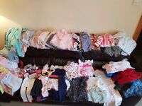 Girl baby clothes bundle 6-9 month £35