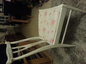 WOODEN SHABBY CHIC CHAIR