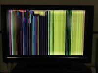 """Broken 42"""" TV LCD"""