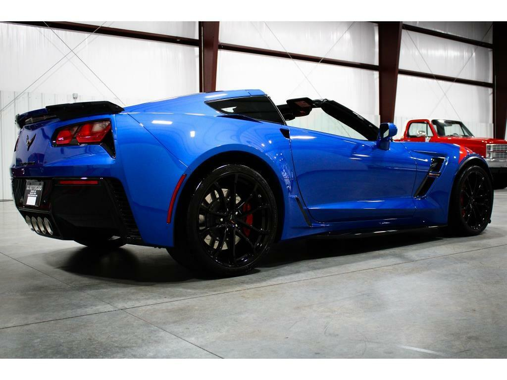 2019 Blue Chevrolet Corvette Grand Sport 2LT   C7 Corvette Photo 5