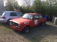 Mk2 escort rally project 2.1 pinto