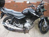 Yamaha 125cc commuter bike 2012 plate