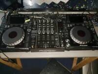Pioneer cdj 2000 nexus (pair) + djm 850