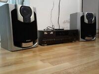 TECHNICS AMP / AIWA SPEAKERS