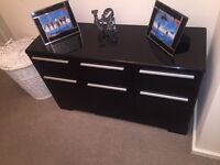 Tv stand, coffee table, cabinet