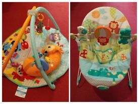Baby bundle: Play Gym + Baby Bouncer