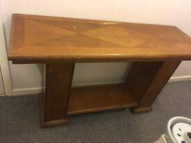 Solid Wood Table/Sideboard