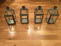 Wedding Lighting Decoration -job lot- lanterns, candle holders, festoon lights, napkin holder, etc.