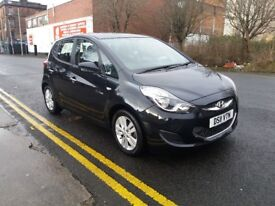 2011 Hyundai IX20 1.4 Active 5dr in Black with full service history.
