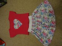 skirt + T-shirt set