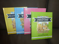 17 item bundle of childrens books, story cd and Brand new DVD