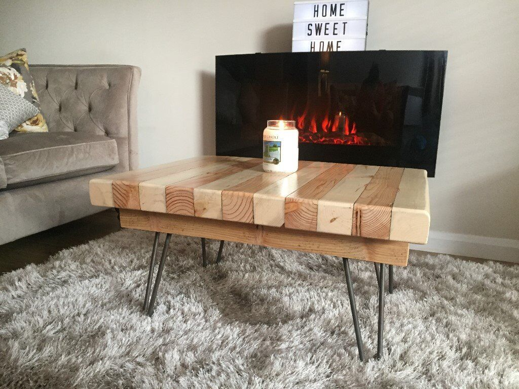 Reclaimed Salvaged Wooden Coffee Table