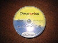 25 DVD-R disks