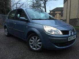 2007 57 Renault Megane scenic 1.5 diesel manual. FSH. Excellent condition.