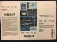 ATP Finals ticket today afternoon session