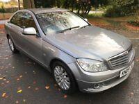 Superb Value 2009 Mercedes C220CDI Elegance Automatic 120000 Miles Full Leather HPI Clear Nov 18 MOT