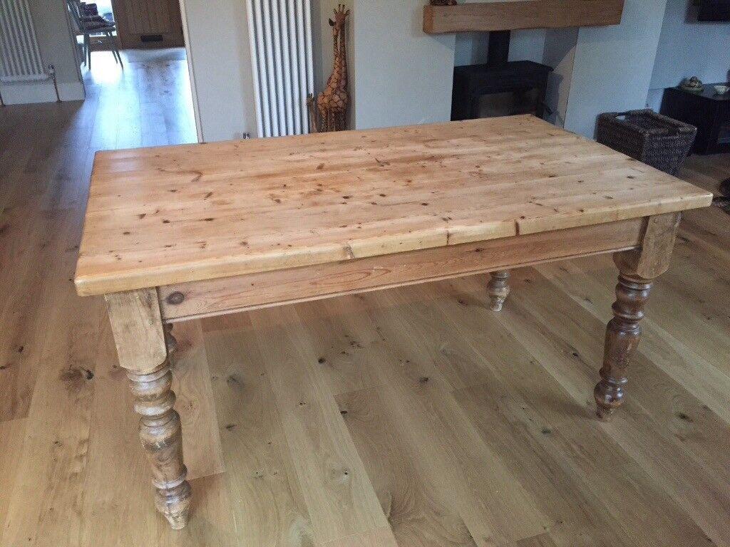 Farmhouse solid table