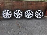 Fiesta zetec s st line alloy wheels