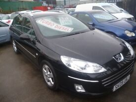 Great looking Peugeot 407 SE SW HDI,1560 cc Estate,FSH,Sat Nav,panoramic roof,tow bar,all the extras