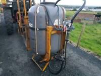 Tractor three point linkage pto driven allman crop weed killer sprayer water pump
