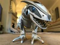 Roboraptor with remote controls
