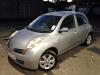 AUTOMATIC NISSAN MICRA 2004 SVE. SUNROOF. PARKING SENSORS. ONLY 36 K MILES.FULLY LOADED.SUPERB DRIVE