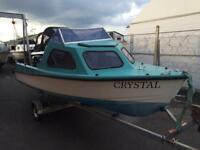 15ft seaside fishing boat