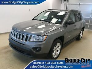 2013 Jeep Compass Sport- Manual, Bluetooth, Heated Seats!