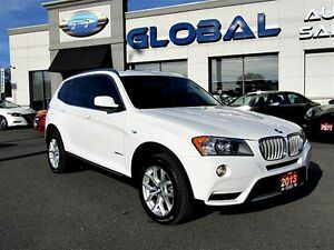 2013 BMW X3 xDrive28i AWD NAVI TECH PKG