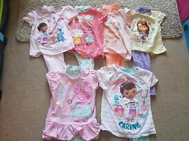Bundle of Girls Pyjamas - 3-4 years