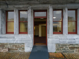 Office premises at Crownhill Fort, 750sq ft, ground floor, available immediately