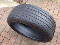 "235 45 19"" Pirelli P Zero Rosso Part Worn Tyre 4.75mm"
