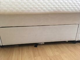 Double Divan Bed With Drawers Plus Mattress