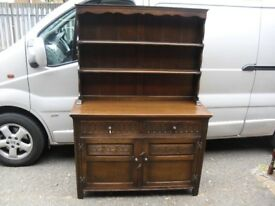Superb Quality & Condition Jaycee Of Brighton Oak Plate Rack Sideboard Dresser