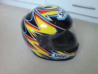 Shoei crash helmet - Tokudome replica